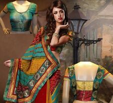 BRAND NEW MULITI COLOR INDIAN DESIGNER SARI.