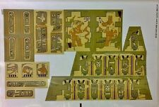 LEGO Pharaohs Quest Sticker Set 7327 Scorpion Pyramid Hieroglyph Egypt Mummy New