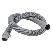 "Washing Machine Flexible 49.6"" Water Drain Hose Pipe White (4.2) FEET Best Qlty"