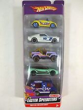 2009 Hot Wheels - Easter Speedsters 5 Car Gift Pack - Diecast Toy TARGET RELEASE