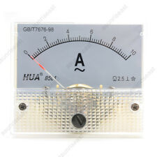 1×AC10A Analog Panel APM Current Meter Ammeter Gauge 85L1 AC0-10A