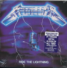Metallica Ride The Lightning (Remaster) CD '16 (SEALED - NEW)