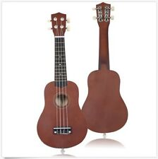 """Professional Ukulele 21"""" Acoustic Guitar Musical Instrument Wood For kids Adults"""