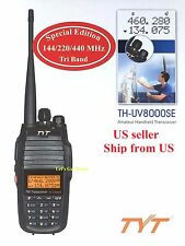 TYT TH-UV8000SE 144/220/440 Tri-Band VHF/UHF Two-Way Radio  US Seller