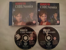 Resident Evil: Code Veronica for Sega Dreamcast [PAL]