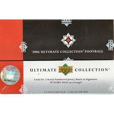 NFL -2006 Upper Deck Ultimate Collection Football Card Sealed Box (Hobby) #NEW