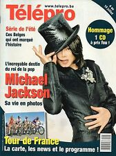 french magazine Télépro N°2887 michael jackson 2009