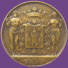 BELGIUM EXHIBITION BRONZE MEDAL PRIZE OF THE CITY OF ANTWERP 1968 / 70 mm / N134