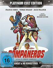 COMPAÑEROS - PLATINUM CULT Tomas Milian FRANCO NERO BLU-RAY + 2 DVD + CD Box