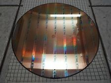 SILICON  Pulled Single Crystal Lithograph WAFER- 300mm OD - Lot CXL-Y-7