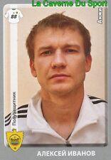 071  ALEKSEY IVANOV FK.ANZHI MAKHACHKALA STICKER PANINI RUSSIA LEAGUE 2012