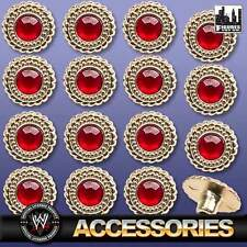WWE World Heavyweight Adult Size Belt 16 Replacement Ruby Rivet Set