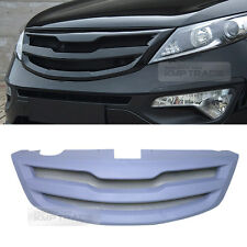 Front Radiator Hood Grille Cover Trim Unpainted 1ea for KIA 2011-2016 Sportage R
