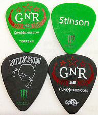 """Guns N' Roses """"BumbleFoot""""  & """"Tommy Stinson """"Guitar Picks - New Condition"""