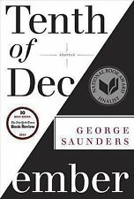 Tenth of December : Stories by George Saunders (2013, Hardcover, w/Dust Jacket)