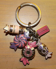 Coach Mix Candy Charm Keychain Key Fob Key Charm. Pink/ Purple/ Multi Color RARE