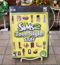The Sims 2: Teen Style Stuff (PC Game, 2007)