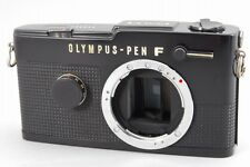 """""""Black Body"""" """"Exc+++++"""" OLYMPUS PEN FT Film Camera Body From Japan A785"""