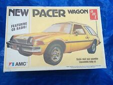 Vintage AMT AMC Pacer Wagon 1977 USA 1/25 Model Car Kit T484w/Box Sealed Parts