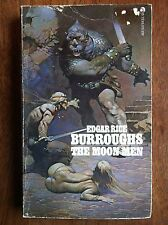 Edgar Rice Burroughs THE MOON MEN ACE THE RED HAWK Frank Frazetta Cover Art L@@K