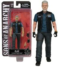 "Sons of Anarchy Clay Morrow 6"" Action Figure Mezco Toyz First 9"