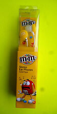 M & M 's M & M stereo Auricolari Giallo EAR PHONES NUOVO IN SCATOLA ORIGINALE
