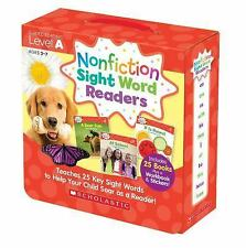 Nonfiction Sight Word Readers Parent Pack 1 : Teaches 25 Key Sight Words to...