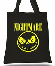 NIGHMARE BEFORE CHRISTMAS - TIM BURTON - TOTE COTTON BAG