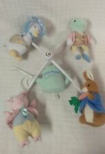 GUC Luv n' Care Tale of PETER RABBIT Musical Mobile Puddle Duck Pig Frog POTTER