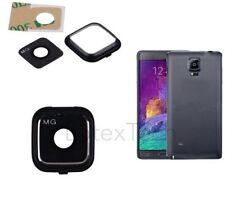 Samsung Galaxy Note 4 N910F SM-N 910 Camera Lens Cover  Frame Black