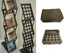 2 Folding Magazine Racks for Trade Show Literature Brochure Display-Lowest Price