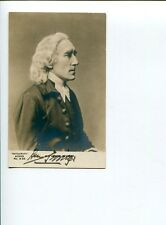 Sir Henry Irving Victorian Era Actor Dracula Signed Autograph Photo