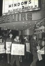1980 Press Photo Coalition to Oppose Violence Against Lesbians and Gay Men