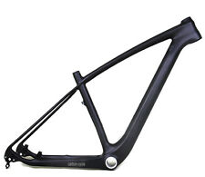 "29er 15.5"" Carbon MTB Frame 142 Thru Axle BSA UD Matt Mountain Bike Clamp LIGHT"