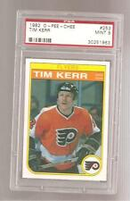 1982 O-Pee Chee #253 Tim Kerr PSA 9 Mint Beauty