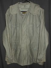 Vtg USAF Parka Sage Green Original 1959 US Air Force Jacket Medium Regular