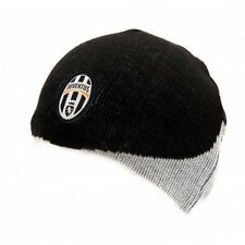 Official JUVENTUS FC home style black and white beanie knit hat
