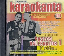 Los Inquietos Tropa Vallenta Jorge Celedon Paseos Vallenatos1 Karaoke New Sealed