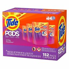 Tide Pods Spring Meadow Scent 152 Count NEW!!