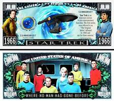 STAR TREK Novelty Dollar with Protector and Free shipping buy now