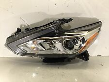 Nissan Altima Headlight Halogen with LED DRL Chrome 2016 2017 Left LH Side Nice