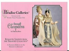 "Paradise Galleries - 12"" Antony & Cleopatra, MINT COA & OB's new in boxes"