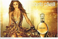 Publicité Advertising 2012 (2 pages) Parfum Roberto Cavalli