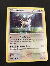 1X Arceus XY197 HOLO FOIL Rare  -XY Black Star Promo- NM- Pokemon