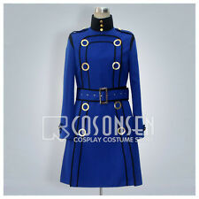 Shin Megami Tensei Persona 4 Marguerite Cosplay Costume Blue Coat Custom Made