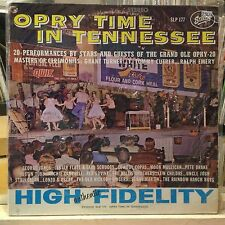 [ROCK/POP]~[VARIOUS ARTISTS]~EXC LP~OPRY TIME IN TENNESSEE~[1975~STARDAY REISSUE