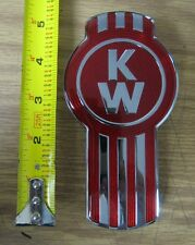 "BRAND NEW KENWORTH T680 & T880 BUG EMBLEM for SIDE OF HOOD - MEASURES 5.25"" HIGH"