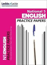 National 5 English Practice Papers for SQA Exams Aitchison Leckie 9780007504879