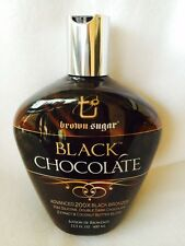 Black Chocolate 200X Black Bronzer Tanning Bed Lotion Brown Sugar Tan Inc