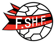 Albania FSHF Association calcio football adesivo etichetta sticker 12cm x 9cm